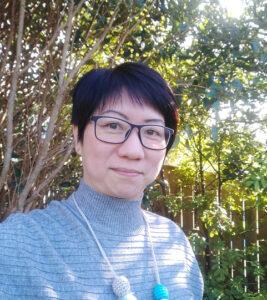 Alice Wood spiritual director in garden