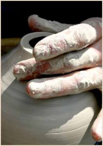 Arthur Bruce Spiritual Director potting